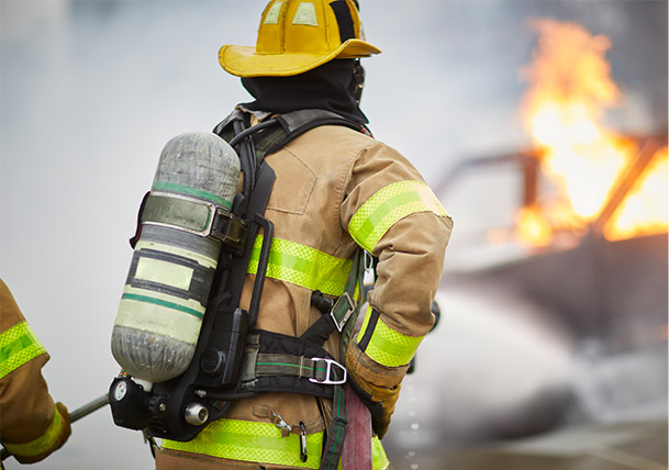 Nomex® for firefighter protection